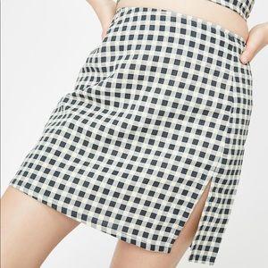 Motel Sheny Mini Skirt Size Large